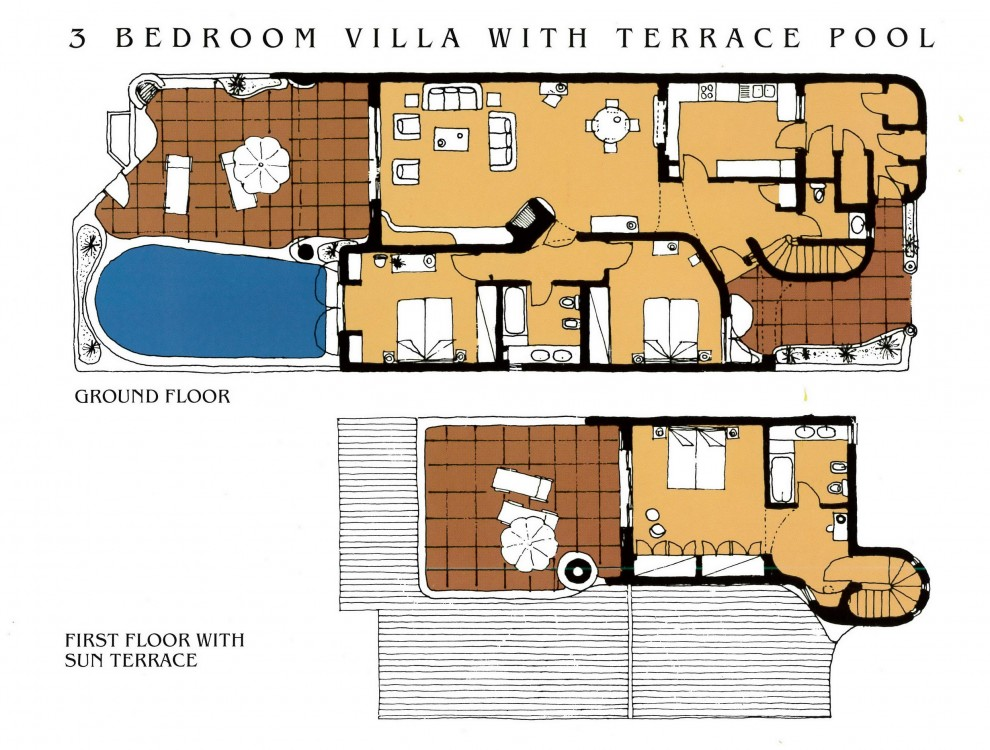 Acacia floor plan 3 bed