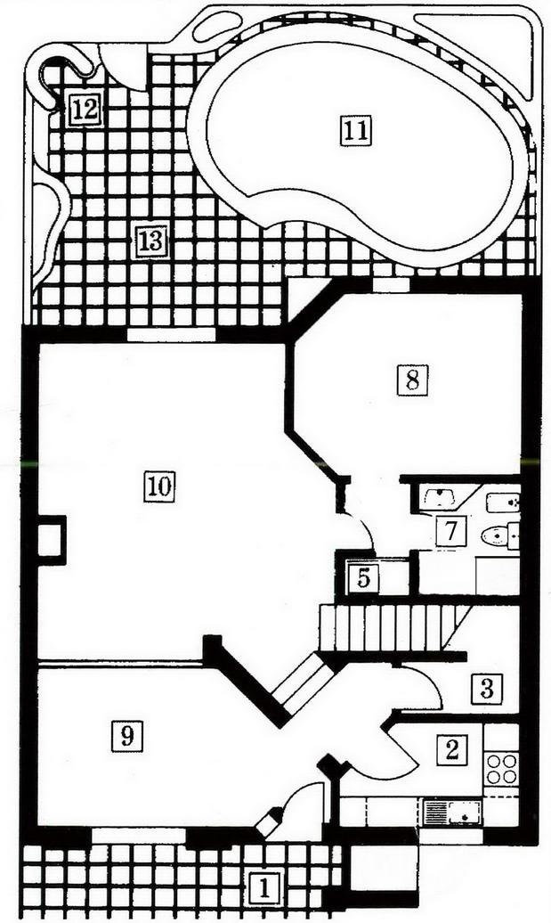 Bougainvillea floor plan ground
