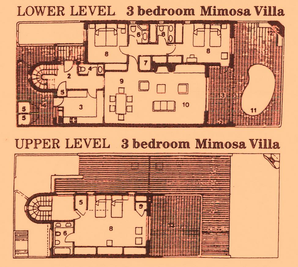 Mimosa 3 bed floor plan